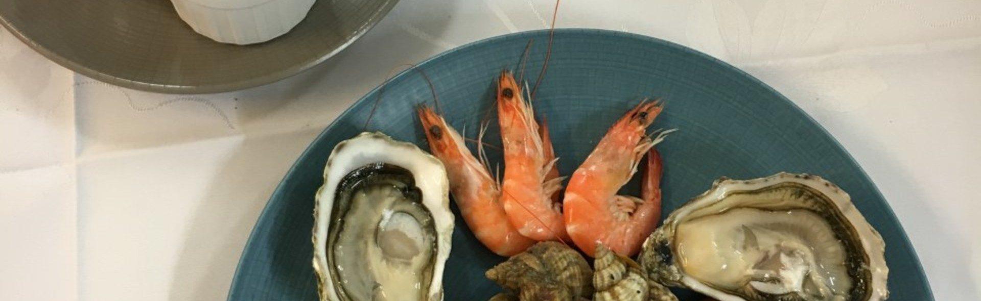 assortiment de fruits de mer